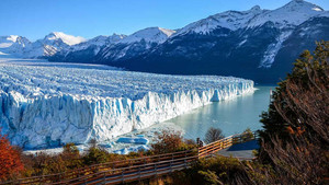 El glaciarPerito Moreno.