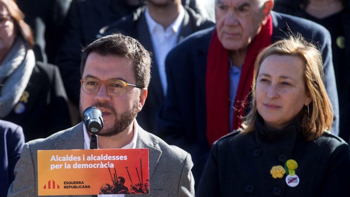 Uns 30 alcaldes d'ERC denuncien «el judici a la democràcia»