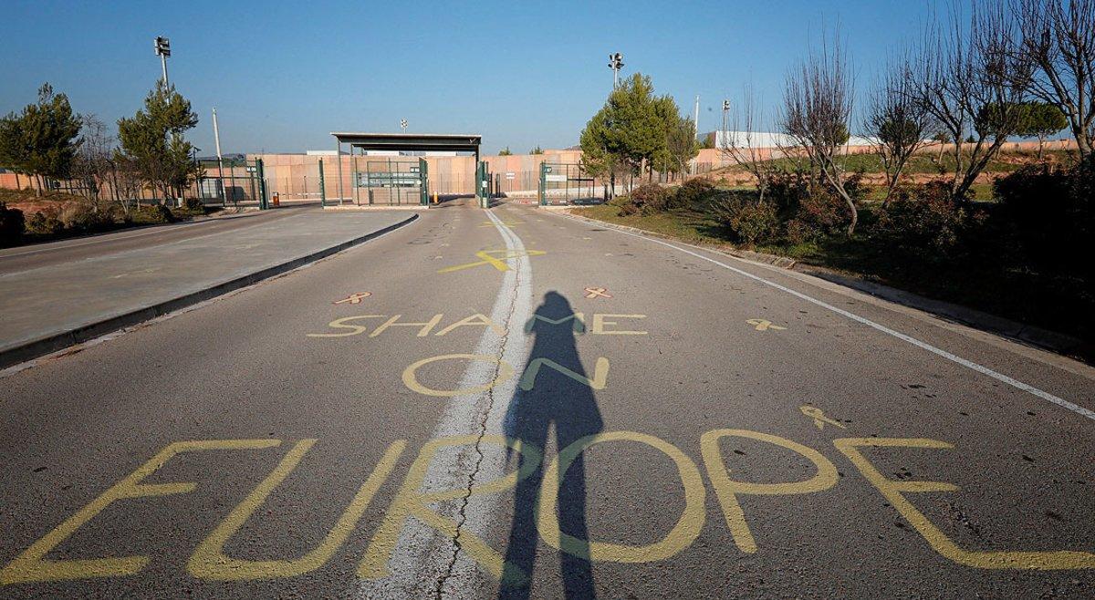 Vista del centro penitenciario de Lledoners, donde se encuentra encarcelado Oriol Junqueras, el jueves pasado.