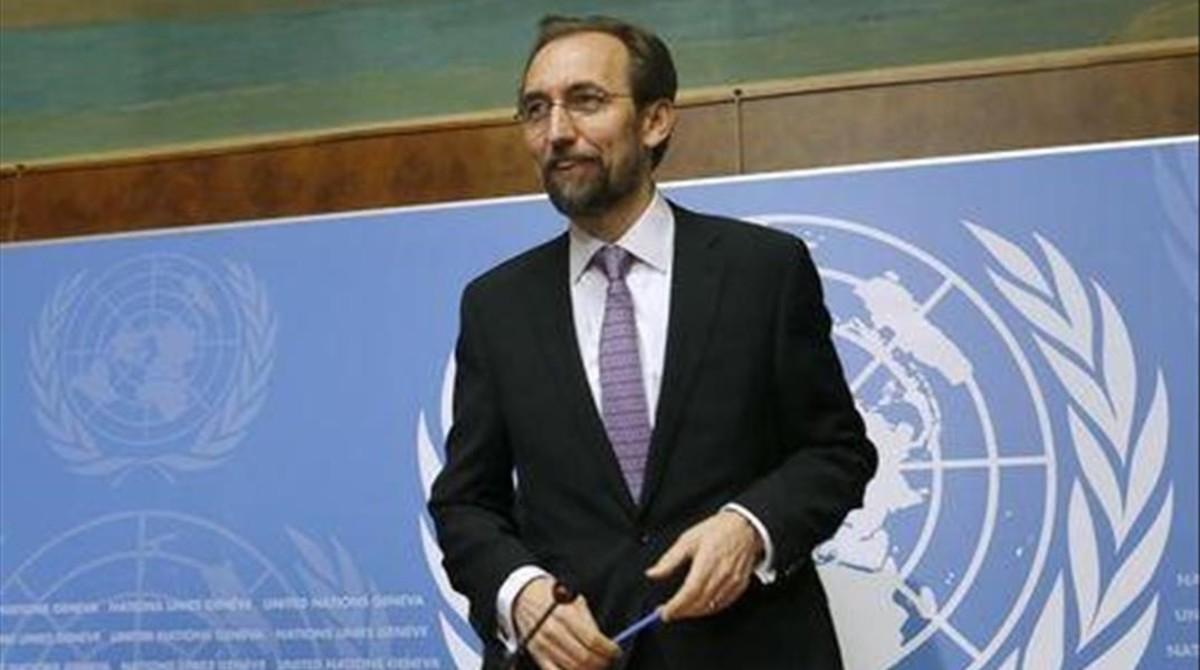 Zeid Ra'ad Al Hussein, Alto Comisionado de la ONU para los Derechos Humanos, en una imagen de archivo.