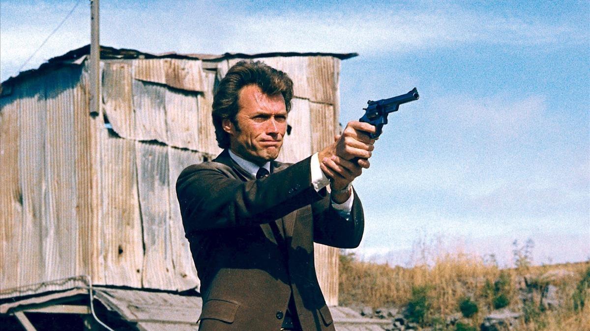 Clint Eastwood, en la piel de Harry el sucio.