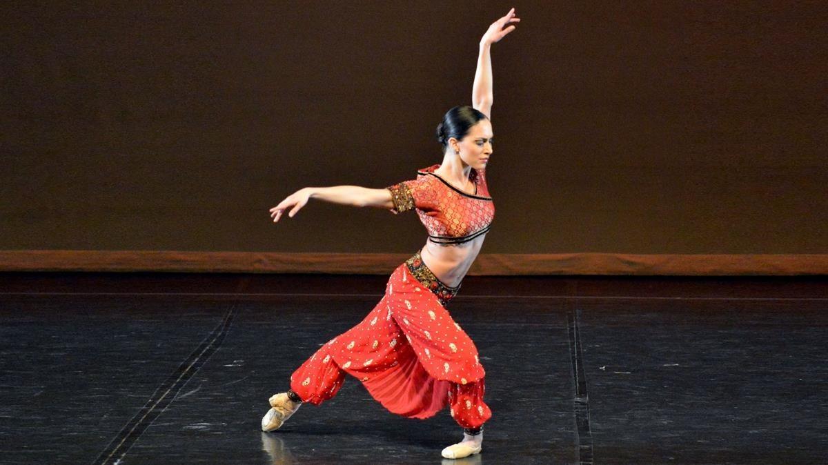 Alba Nadal, bailarina del Royal Danish Ballet de Copenaghe.