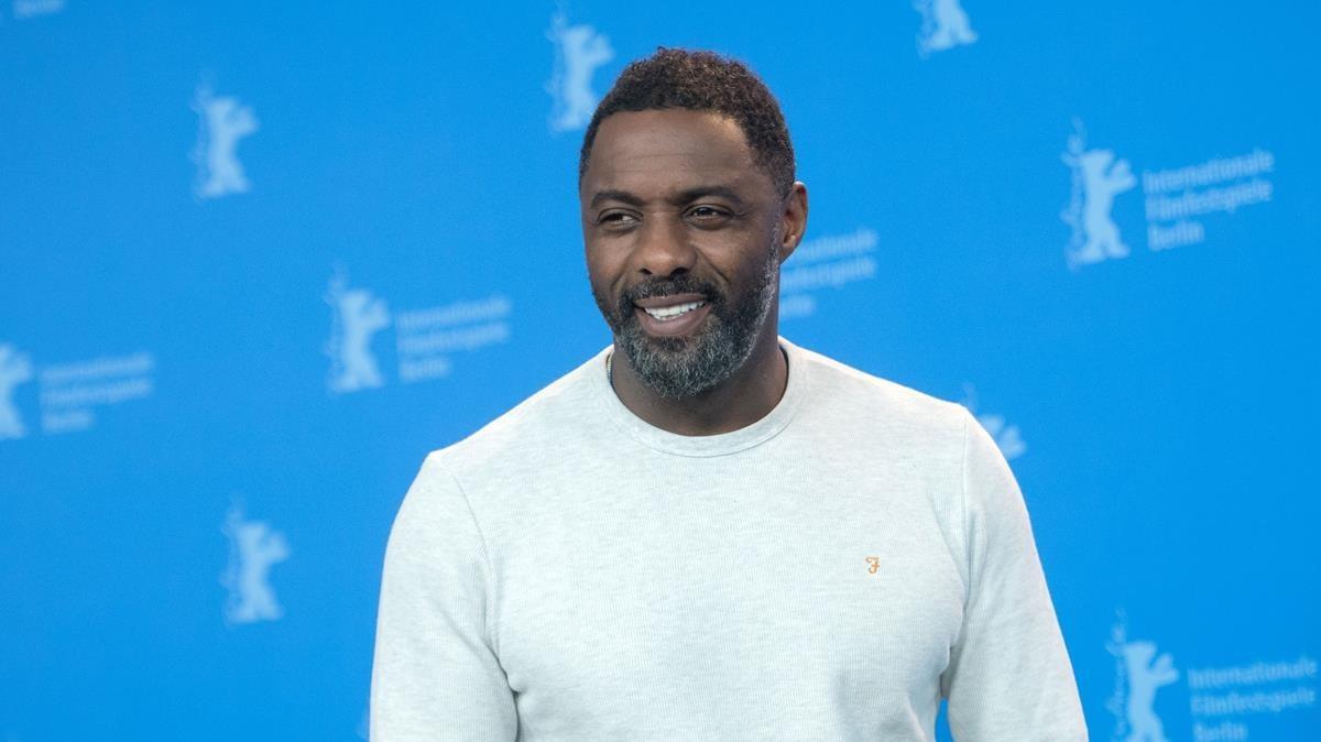 El actor británico Idris Elba, el pasado mes de febrero,en la Berlinale.