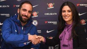 El Chelsea anuncia el fichaje Higuaín por Twitter.