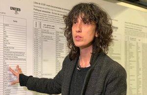 Banu Cennetoglu: «Uso les meves possibilitats com a artista per donar visibilitat a 'The list'»