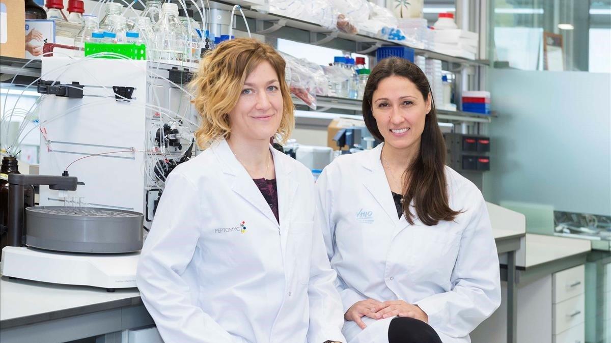 La doctora Marie-Eve Beaulieu (izquierda) y Laura Soucek (derecha).
