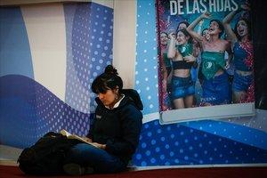 Una imagen de la Feria Internacional del Libro de Buenos Aires.