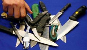 Els delictes amb arma blanca arriben a xifres rècord a Anglaterra i Gal·les