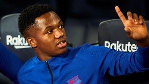 Robert Moreno diu que Ansu Fati «ha trencat barreres» i no el descarta per a l'Eurocopa