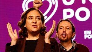 Colau, Iglesias i la victòria dels perdedors