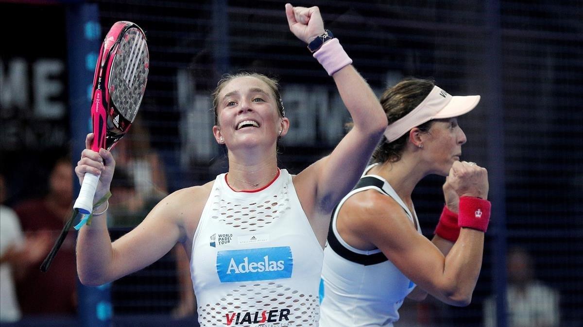 La número dos del mundo, Marta Ortega, en el Open de València 2019.