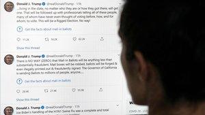 Trump torna a promocionar la hidroxicloroquina i atacar Fauci a Twitter