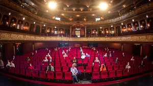 El Staatstheater de Wiesbaden, en Alemania, fue el primero en ofrecer ópera después del cierre.