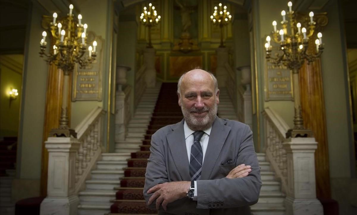 Joaquim Molins, que ha dimitido como presidente del Patronat del Liceu.