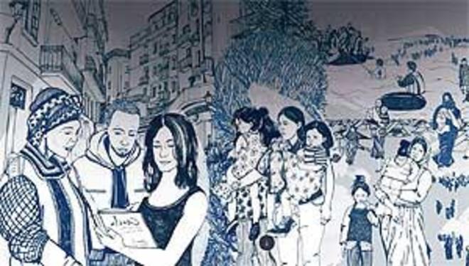 Barcelona treballa per acollir i garantir els drets de les persones refugiades i migrades
