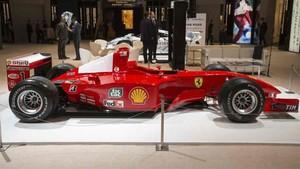 Este es el Ferrari de Schumacher que ha sido subastado