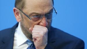 el lider sociademocratas martin schulz