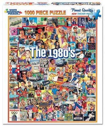 Puzzle años 80