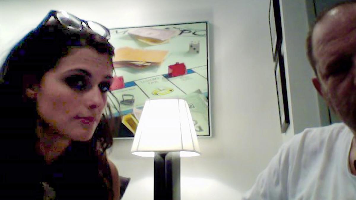Capturadel vídeo grabado por la misma Melissa Thompson.