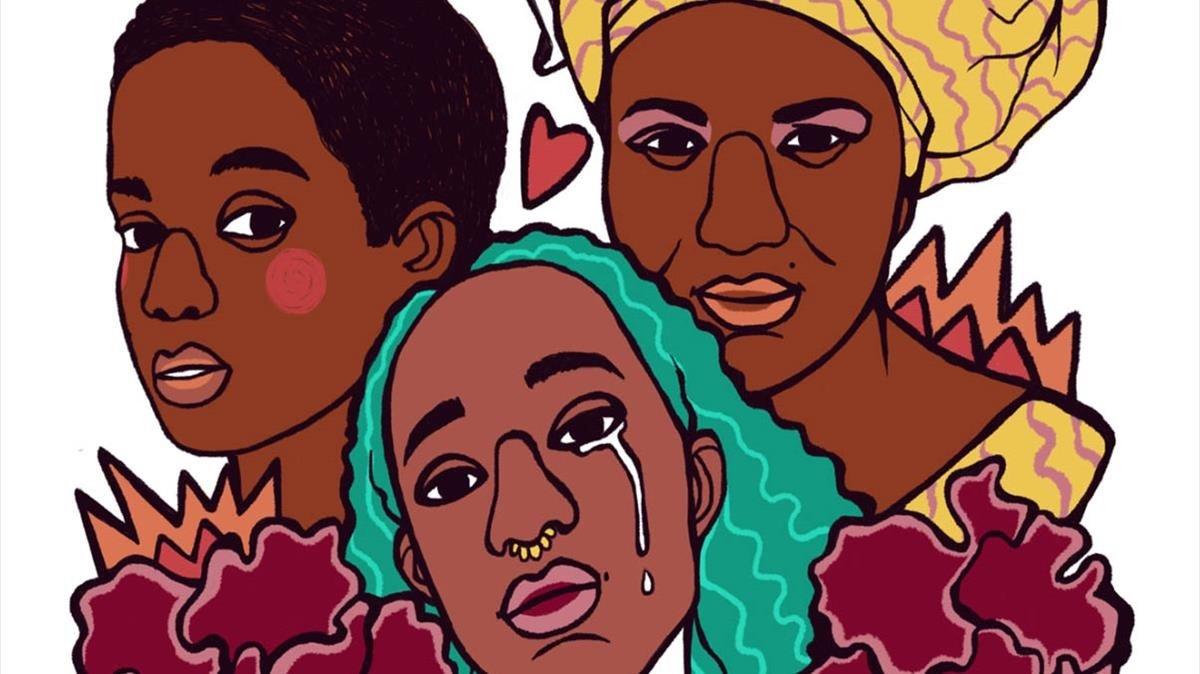 Cartel del Cicle de Cinema Africà i Dona.