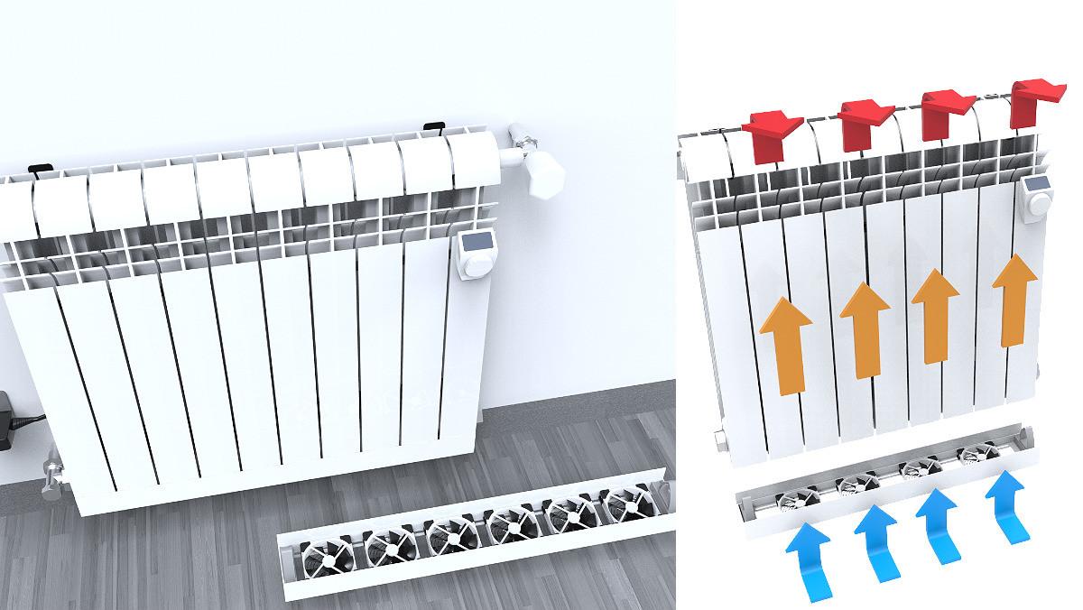 ¿Aire acondicionado con radiadores? Parece una locura, pero es posible.