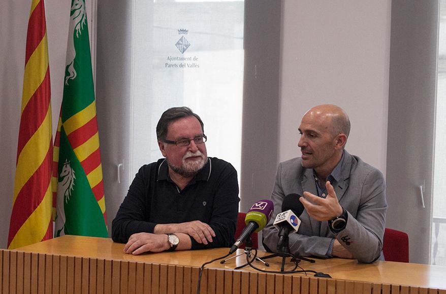 El alcalde de Parets, Sergi Mingote, anuncia su dimisión para abrir una nueva etapa en su vida deportiva.