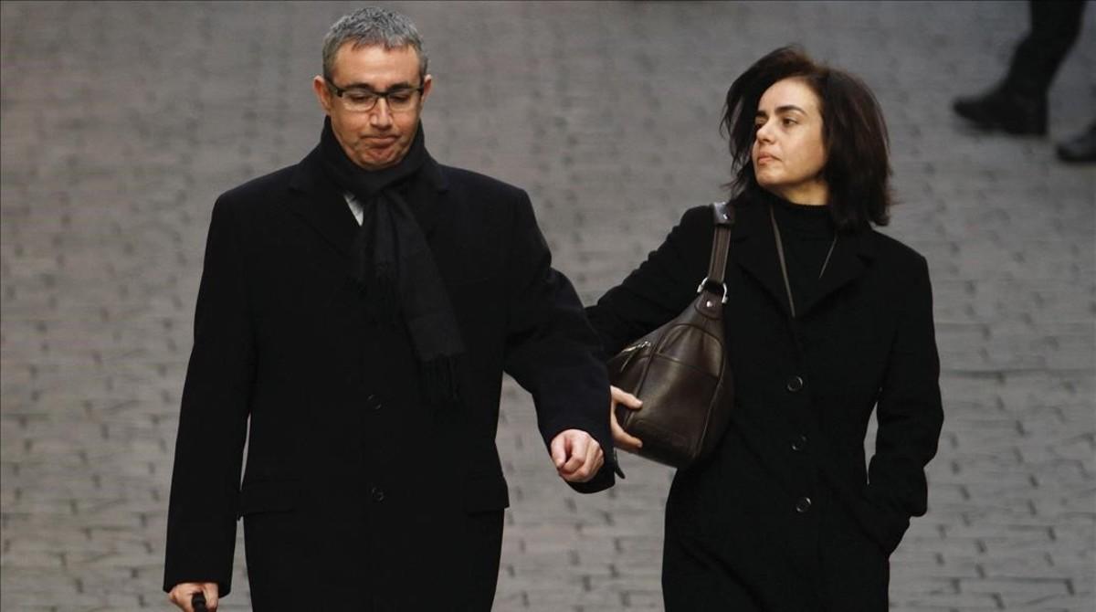Ana María Tejeiro y su marido, Diego Torres.