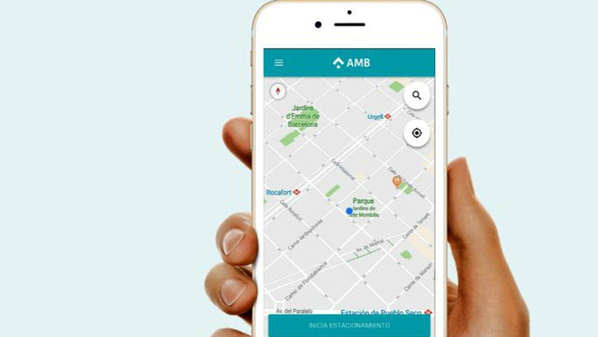 L'AMB unifica amb una 'app' el pagament per l'estacionament en diferents municipis metropolitans