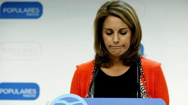 Arantza Quiroga anuncia su dimisión como presidenta del PP del País Vasco