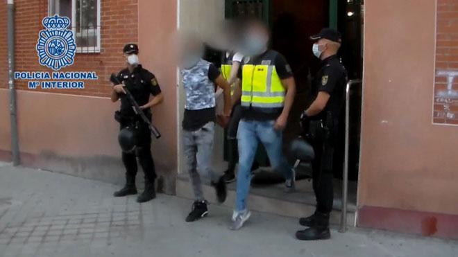 Arrestados los líderes y reclutadores de Dominican Don't Play en Torrejón.