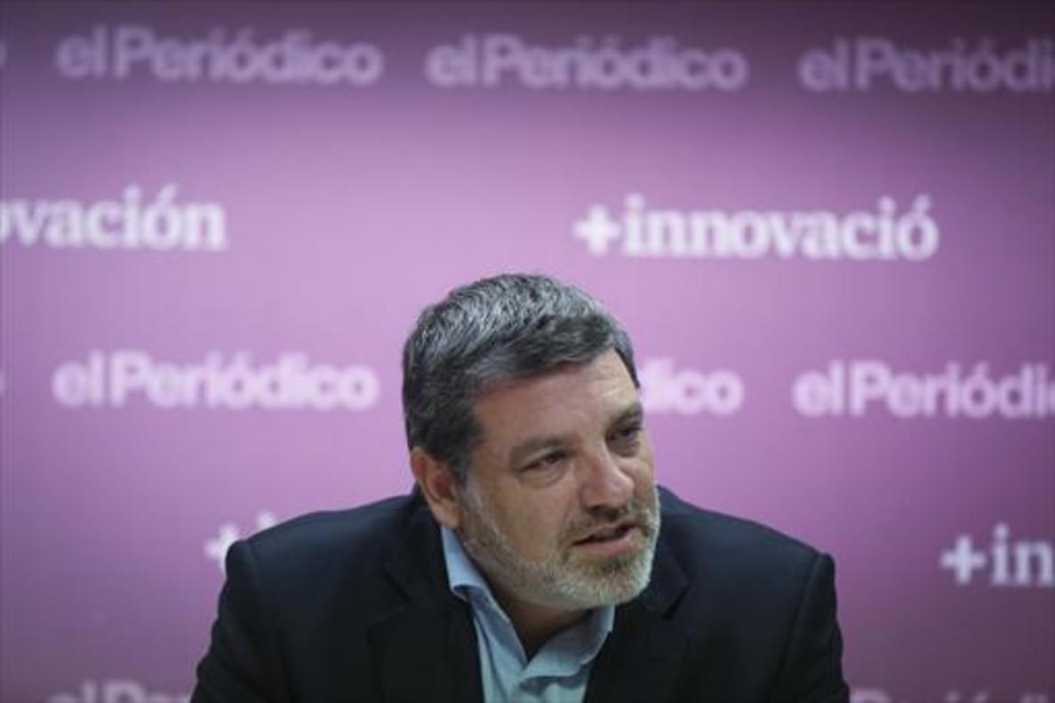EL PRESIDENTE. Calbet afronta el futuro como cara visible de una nueva patronal catalana para el comercio.