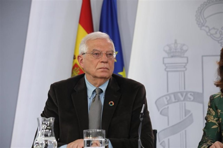 El ministro de Asuntos Exteriores, Unión Europea y Cooperación, Josep Borrell.
