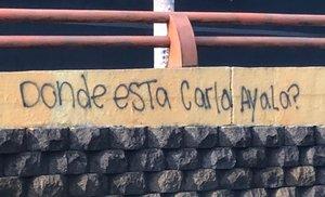 Acusan a 14 policías de cometer feminicidio contra Carla Ayala, quien desapareció el 2017