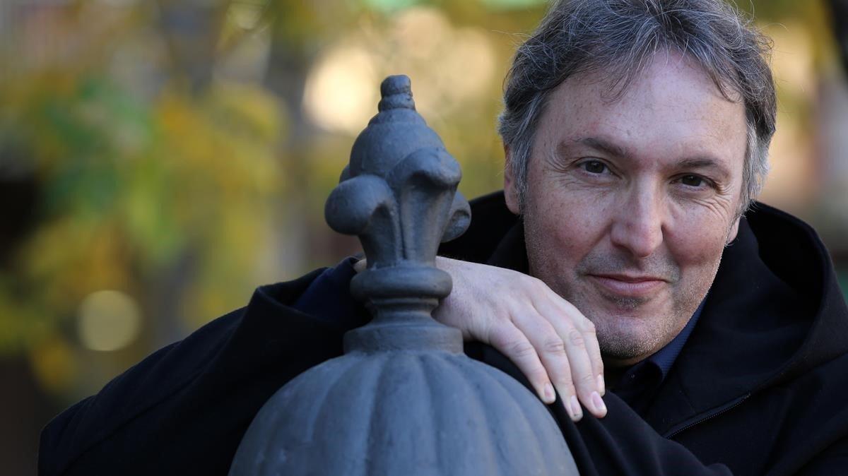 Carlos Zanón, autor de un nuevo libro de Carvalho.