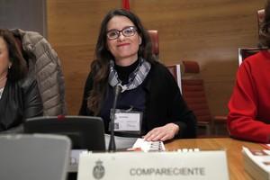 GRAF2542 MADRID 15 03 2018 - La vicepresidenta de la Comunidad Valenciana Monica Oltra durante su comparecencia hoy ante la Comision de Investigacion de la Financiacion de los Partidos Politicos del Senado desde la que el PP indaga sobre las finanzas de las demas formaciones politicas EFE Chema Moya