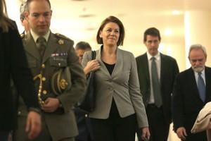 Cospedal proposa una declaració conjunta contra les excarceracions d'ETA
