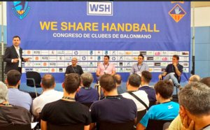 Experts en handbol es reuneixen en el segon congrés We Share Handball d'Esplugues