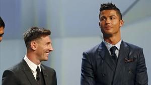 Cristiano quiere ser como Messi (al menos en sueldo)