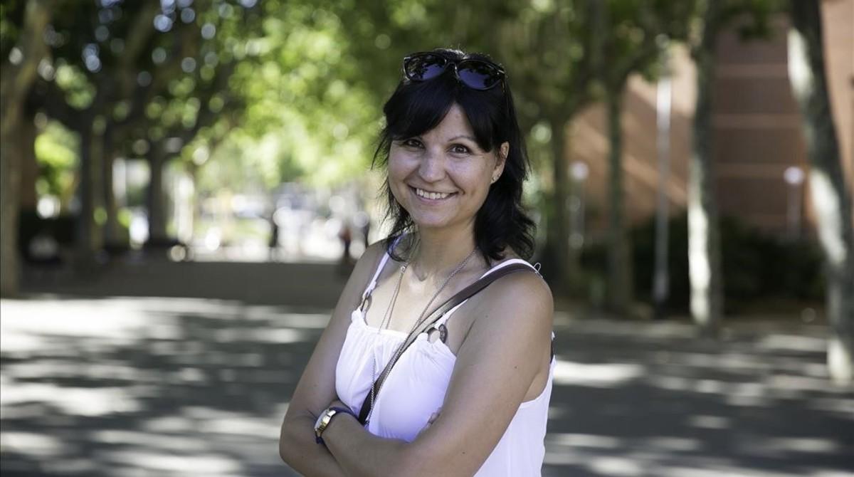 Cristina Rey, enfermera de salud comunitaria.