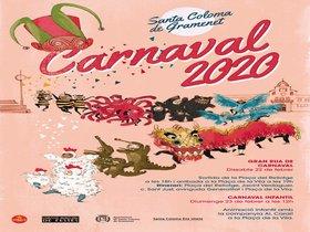 Cartel del Carnaval, en Santa Coloma de Gramenet.