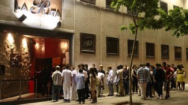La discoteca La Plata, en la Zona Hermética de Sabadell, en el 2010.