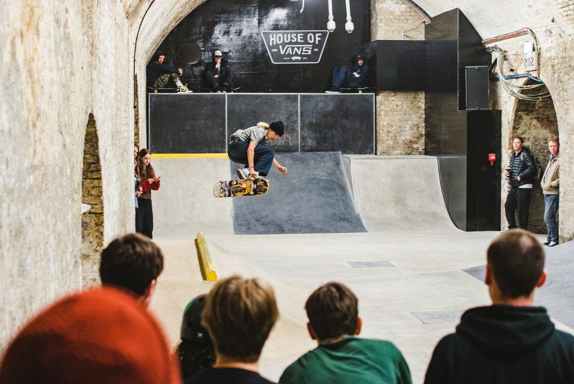 Esta fiesta es todo un regalo paralos 'skaters'.