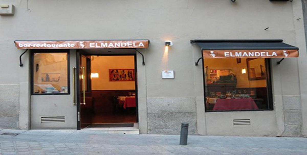 ElMandela, restaurante de comida africana ubicado en el centro de Madrid.