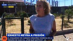 La Guardia Civil corta un directo de 'Espejo público' desde la prisión donde se encuentra Ernesto Neyra
