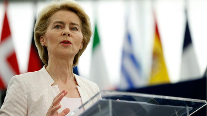 La Eurocámara vota hoy si acepta a Ursula von der Leyen como presidenta de la Comisión Europea.