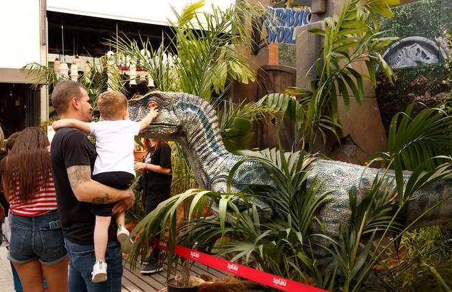 La 'Jurassic World Experience', en el centro comercial La Maquinista hasta el 26 de junio.