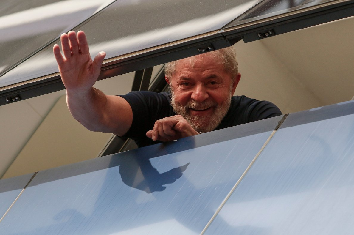 El expresidente brasileño Lula da Silva.