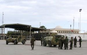 Foto de archivo del cuartel de Ben Guerdan, localidad atacado por yihadistas este lunes.