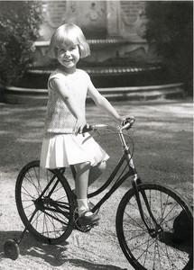 Foto de la duquesa de Alba de niña.