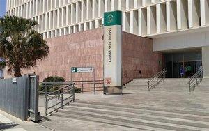 La ciudad de la Justicia de Málaga.